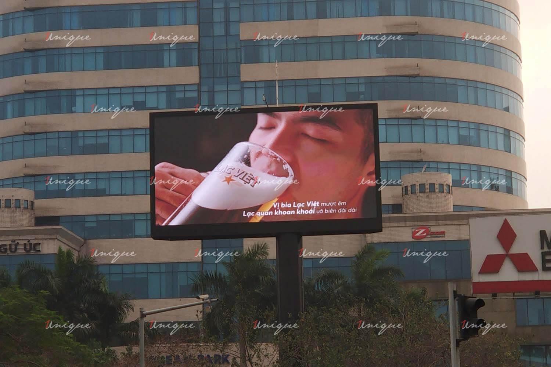 Màn hình Led quảng cáo ngoài trời tại ngã tư Kim Liên (Giải Phóng - Xã Đàn - Lê Duẩn - Đại Cồ Việt)