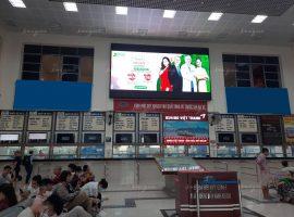 Quảng cáo màn hình Led, Lcd, Frame tại bến xe, nhà ga