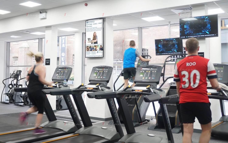 Ưu điểm của quảng cáo tại trung tâm Fitness