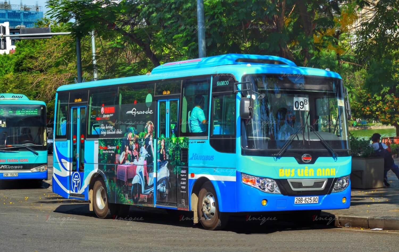 Các hình thức quảng cáo trên xe buýt