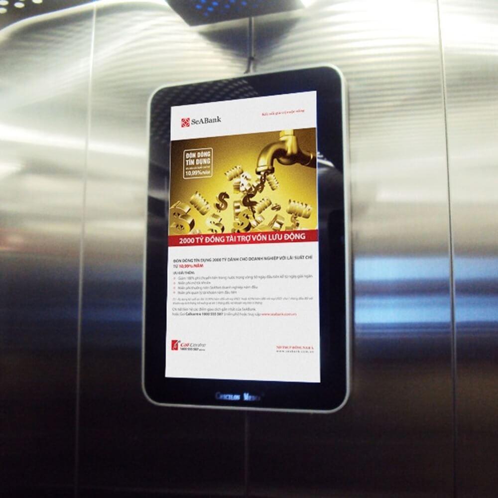 quảng cáo màn hình Lcd