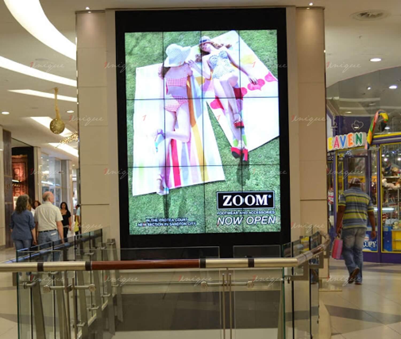 quảng cáo màn hình ghép