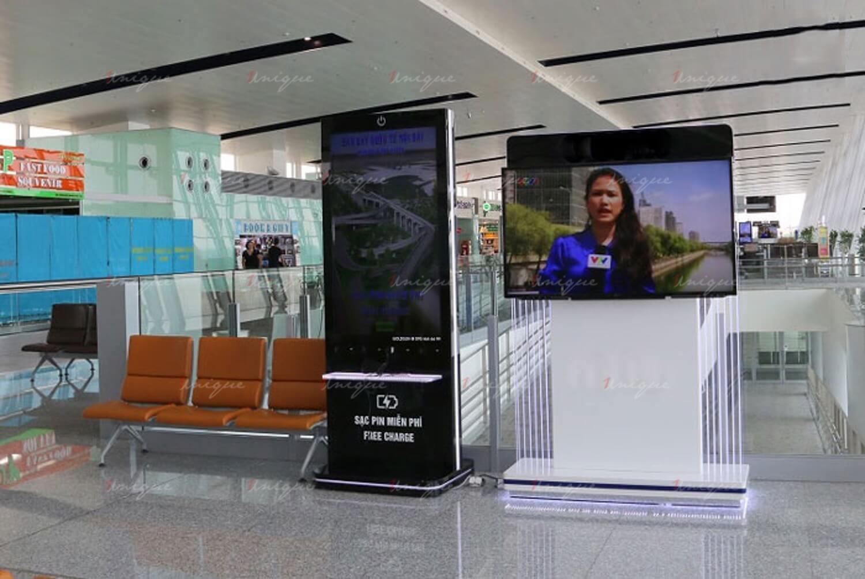 quảng cáo màn hình Led, Lcd, Frame tại sân bay Đà Nẵng
