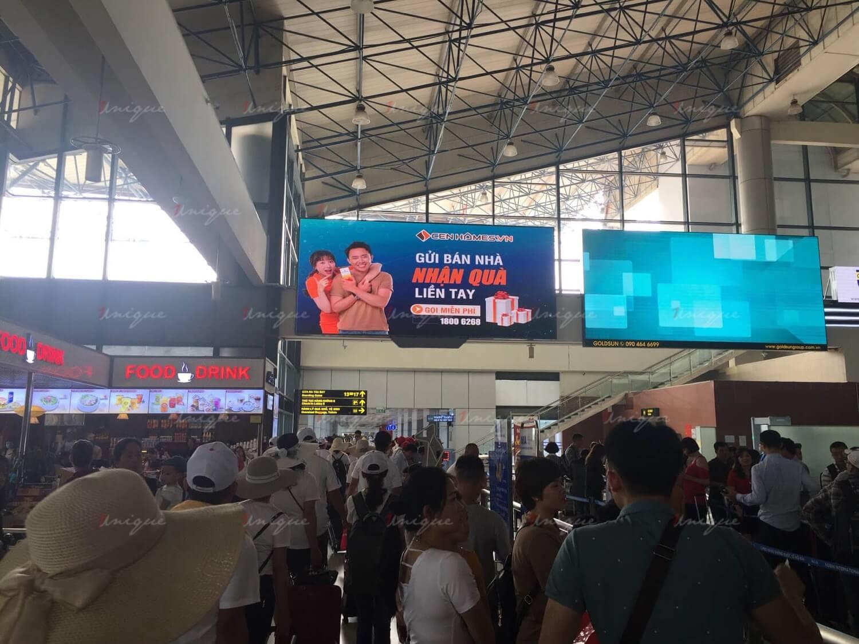 quảng cáo màn hình Led tại sân bay Nội Bài