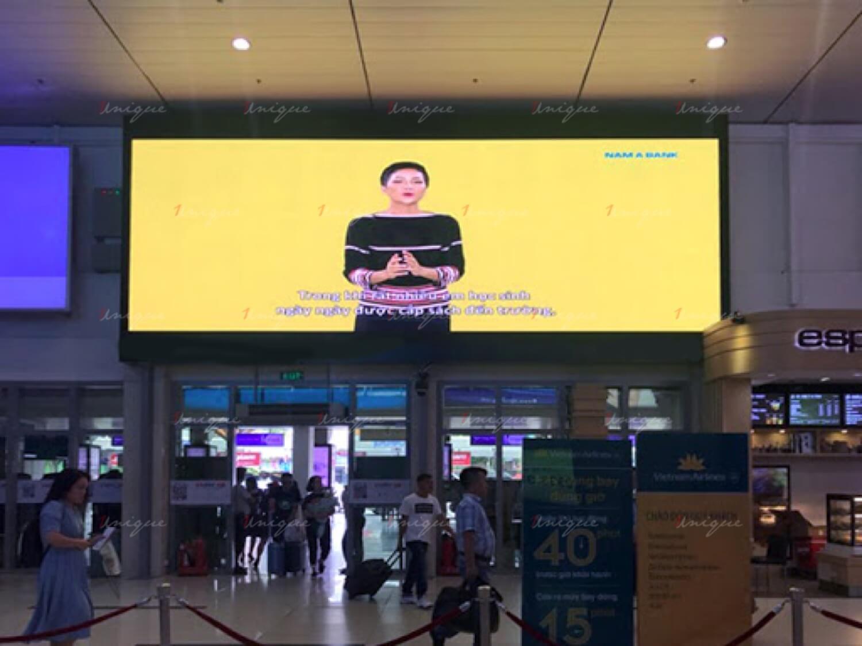 quảng cáo màn hình Led tại sân bay Tân Sơn Nhất
