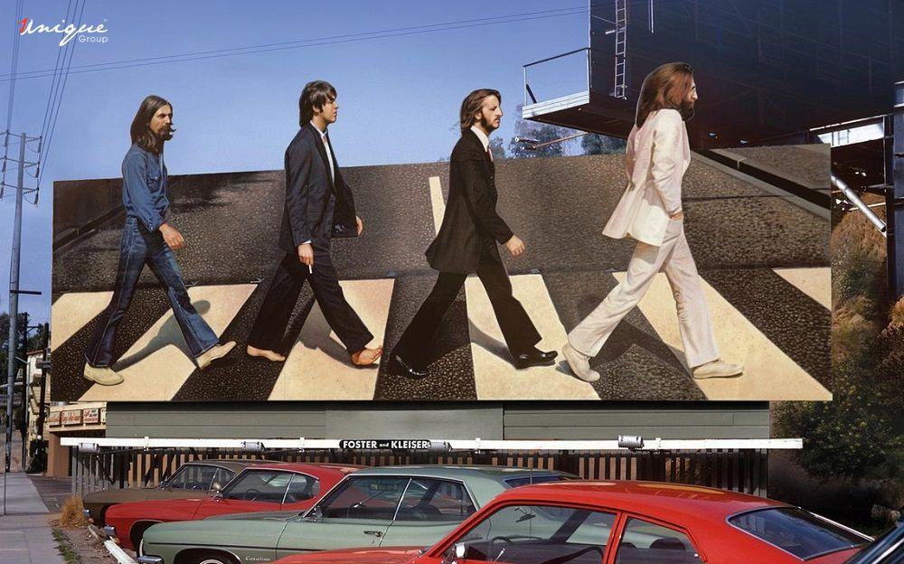 đại lộ quảng cáo ngoài trời nổi tiếng Sunset Strip Hollywood