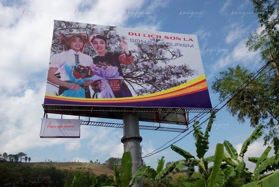 Quảng cáo ngoài trời tại Sơn La