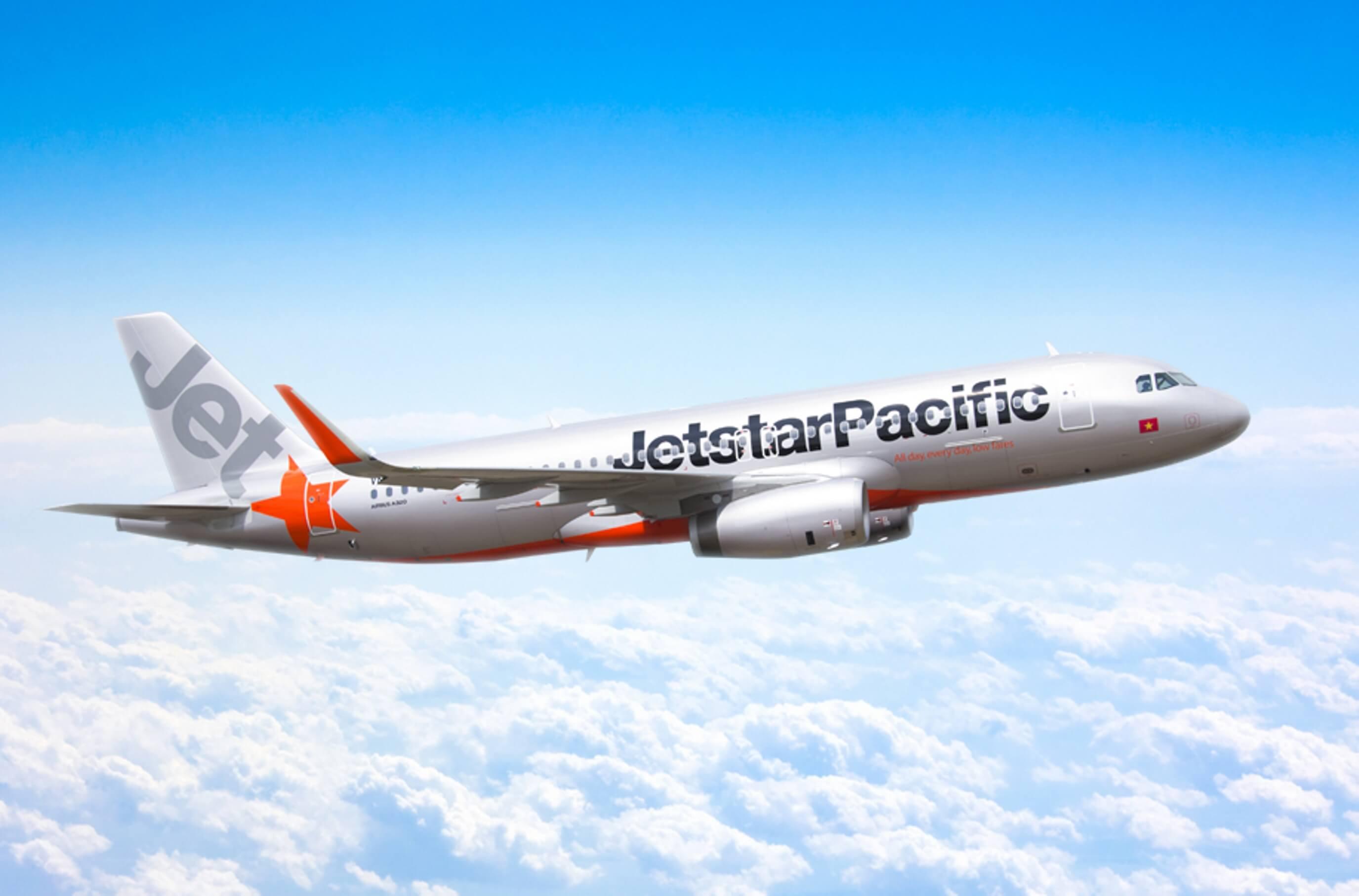 quảng cáo trên máy bay jetstar pacific