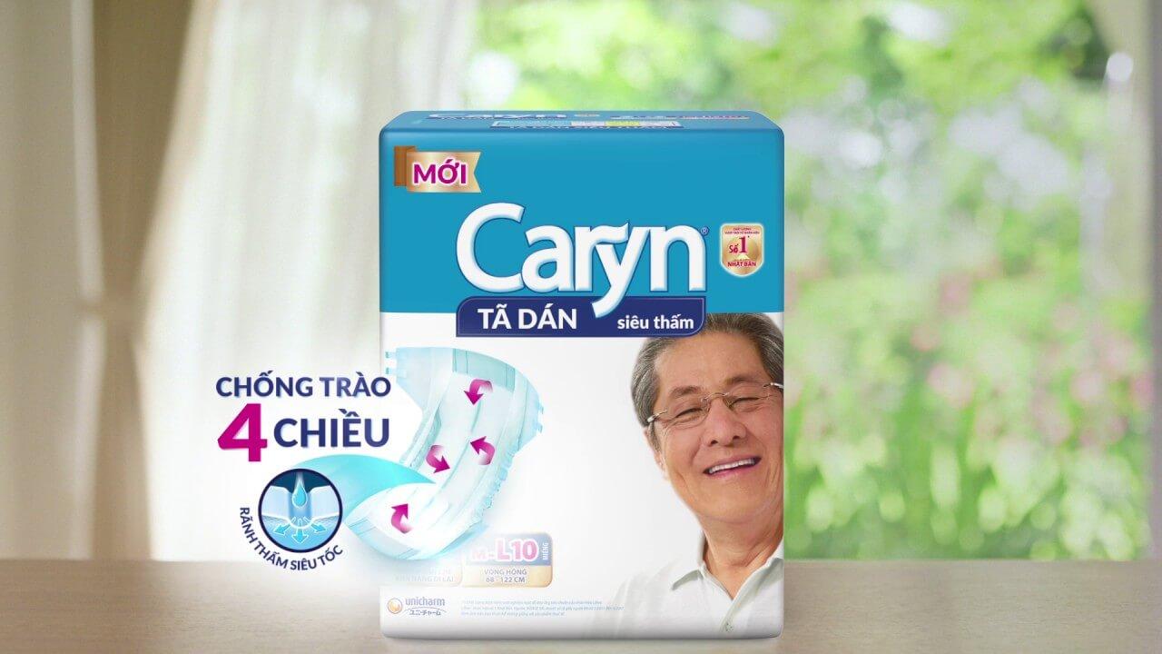 tã dán caryn & bobby quảng cáo tại bệnh viện