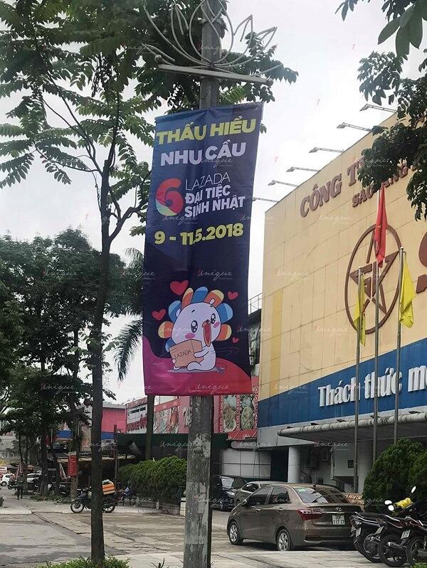 quảng cáo banner, băng rôn, phướn