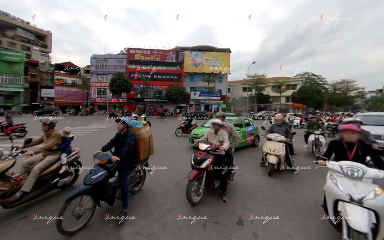 Pano quảng cáo 22 Đông Các, Đống Đa, Hà Nội