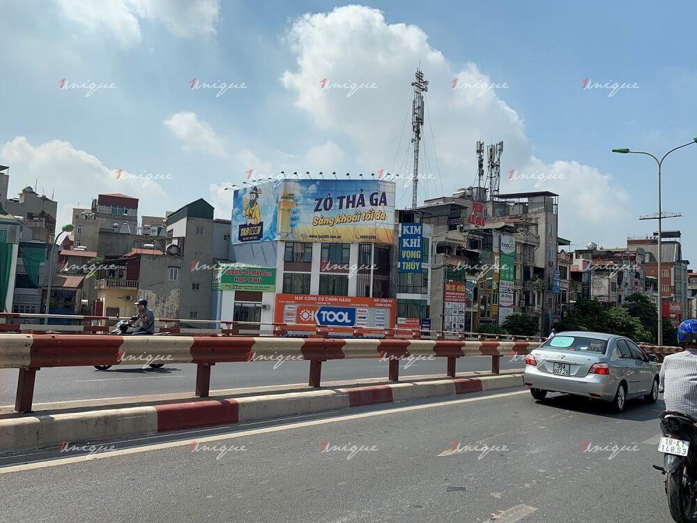 Pano quảng cáo 325 Giải Phóng (cầu vượt Ngã tư Vọng), Đống Đa, Hà Nội
