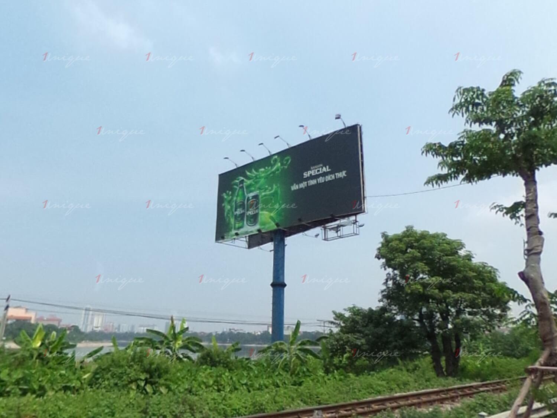 billboard quảng cáo cột hồ linh đàm, hà nội