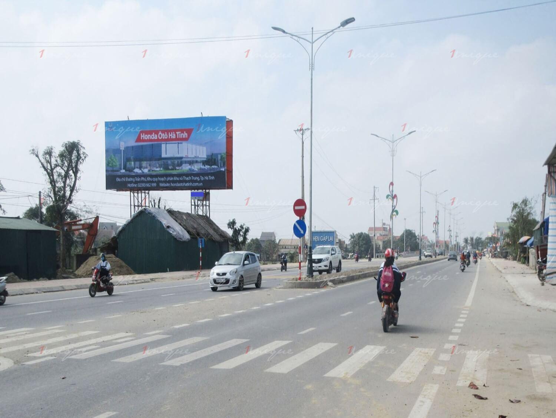 billboard quảng cáo cầu Bến Thủy, Hà Tĩnh