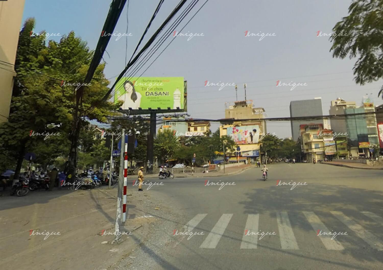 Billboard quảng cáo tại ngã 4 Lạc Trung - Kim Ngưu - Thanh Nhàn, Hà Nội