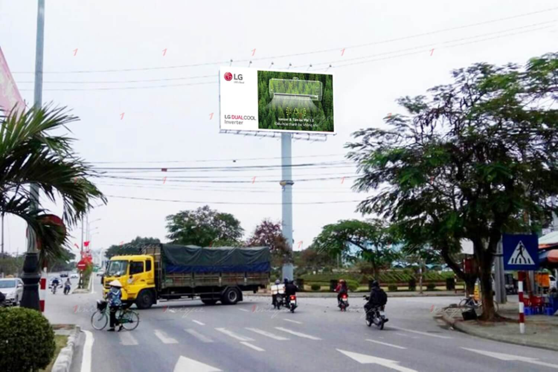 Billboard quảng cáo ngoài trời tại Cầu Rào 1 - Hải Phòng