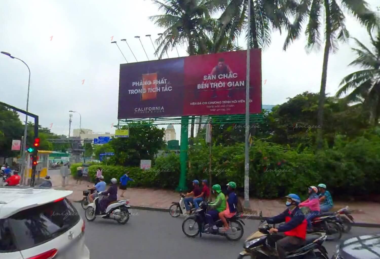 Billboard quảng cáo ngoài trời tại ngã tư Phan Đăng Lưu - Nơ Trang Long