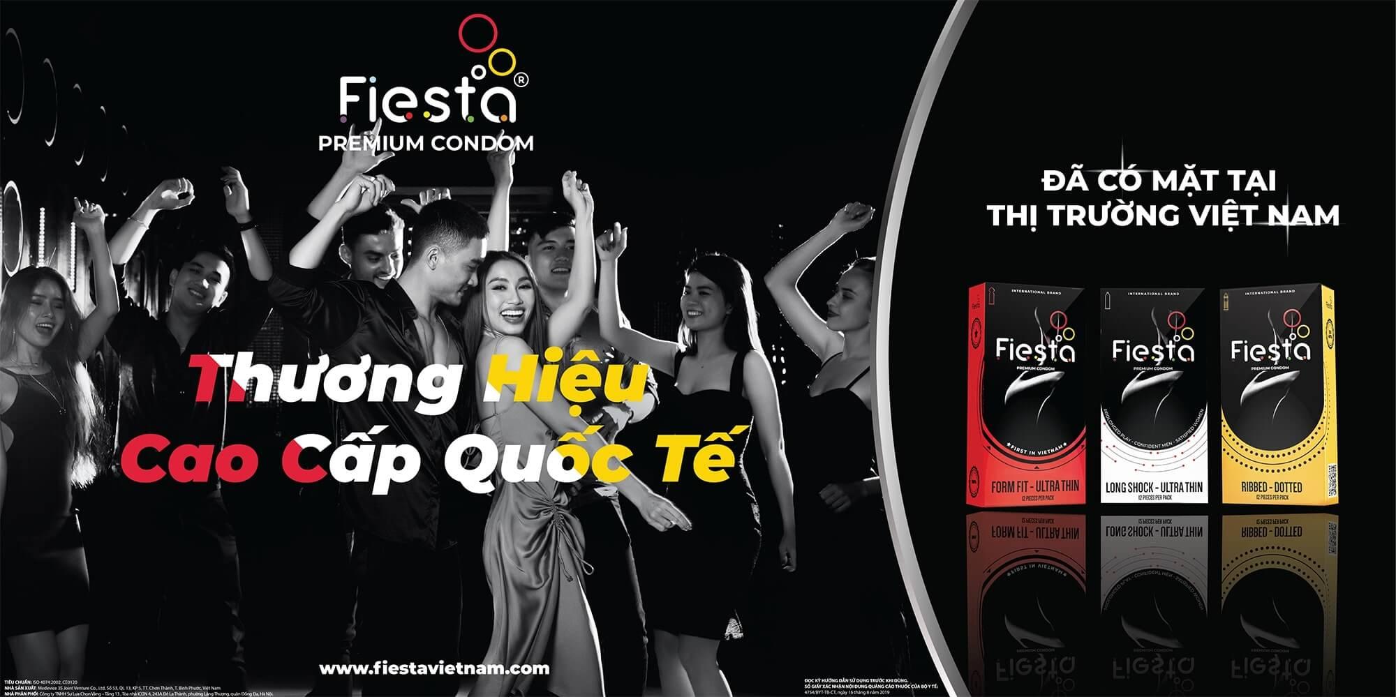 Chiến dịch quảng cáo ngoài trời của bao cao su Fiesta