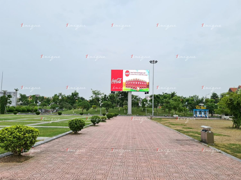 Màn hình Led quảng cáo tại công viên Nguyễn Văn Cừ Bắc Ninh