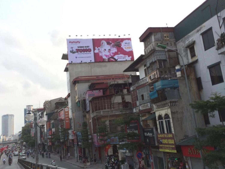 Pano quảng cáo tại 228 Tây Sơn, ngã 4 Thái Hà - Chùa Bộc