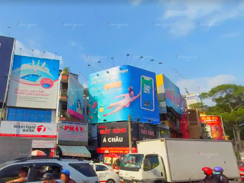 pano quảng cáo tại 516 nguyễn thị minh khai vòng xoay lý thái tổ HCM