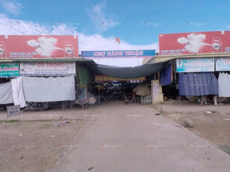quảng cáo biển chợ Hành Thuận, Quảng Ngãi