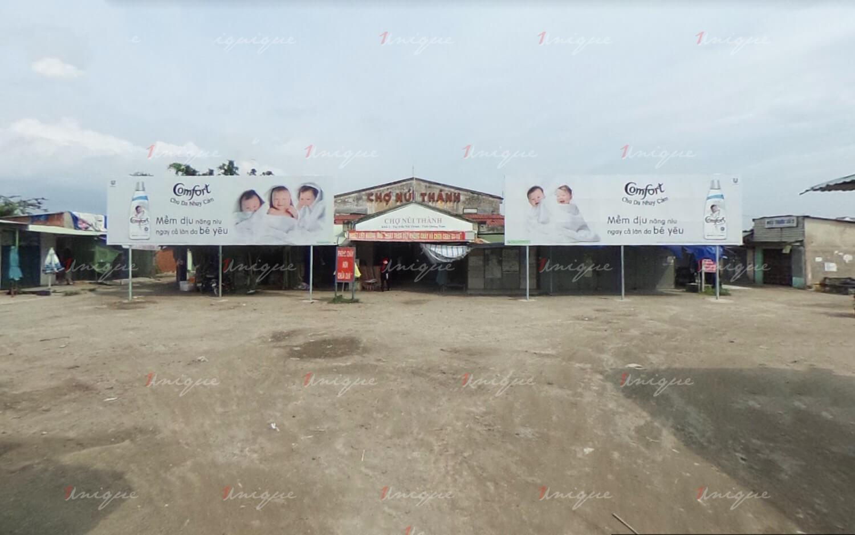 quảng cáo biển chợ Núi Thành, Quảng Nam