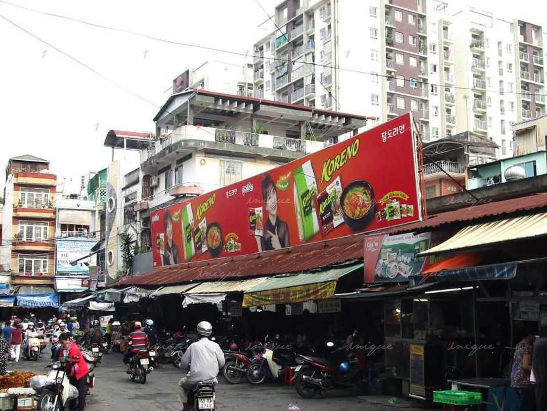 quảng cáo biển chợ Tân Sơn Nhất, Bạch Đằng, Gò Vấp, Hồ Chí Minh