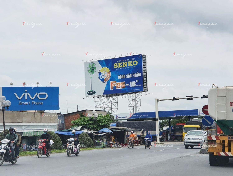 quảng cáo ngoài trời tại Tiền Giang