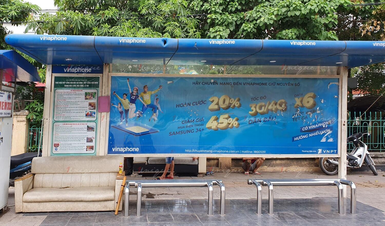 báo giá quảng cáo nhà chờ xe buýt