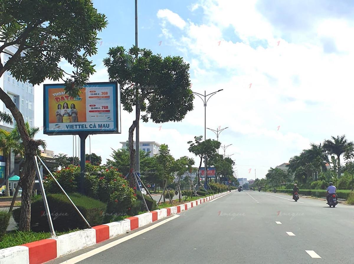Quảng cáo ngoài trời tại Cà Mau