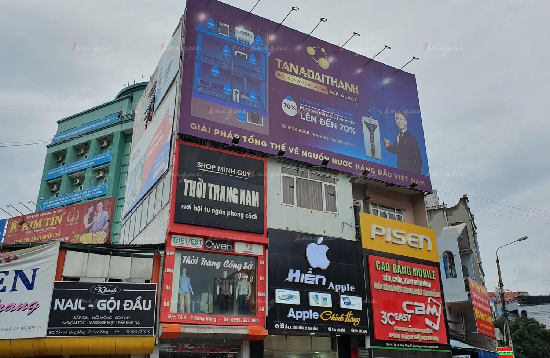 Quảng cáo ngoài trời tại Cao Bằng