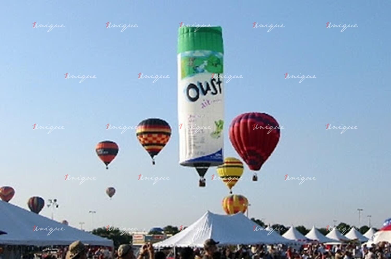 quảng cáo trên khinh khí cầu