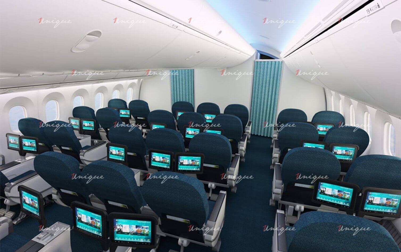 quảng cáo trên máy bay Vietnam Airlines