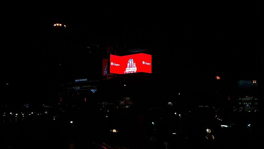 Màn hình Led quảng cáo ngoài trời tại ngã 7 ô chợ dừa