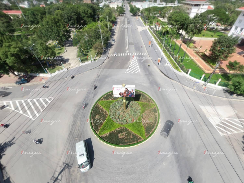 Màn hình Led vòng xoay Quang Trung, xã An Khê, Gia Lai