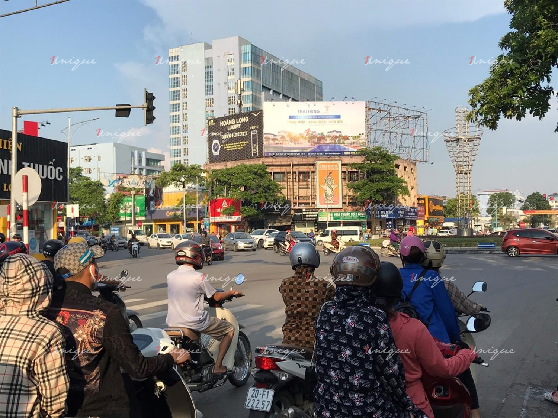 Bất động sản Crowns Villas Thái Hưng quảng cáo Pano tại Thái Nguyên