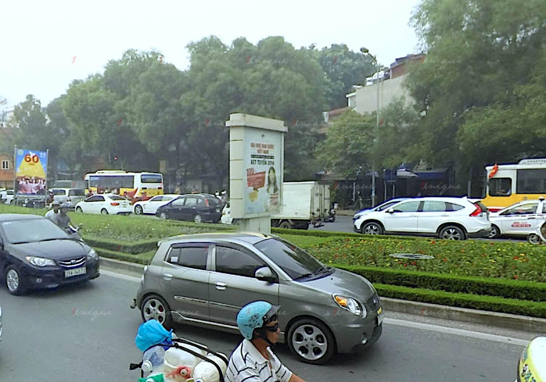 Biển hộp đèn quảng cáo đường Nguyễn Chí Thanh, Hà Nội