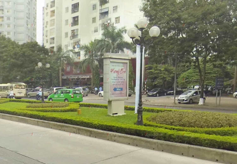 Quảng cáo biển hộp đèn đường Lê Văn Lương, Hà Nội