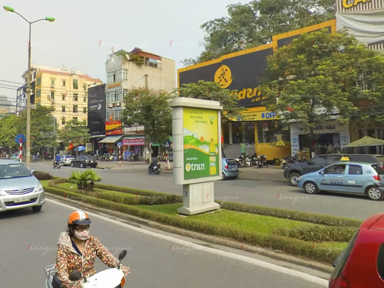 quảng cáo biển hộp đèn đường Nguyễn Khánh Toàn, Hà Nội