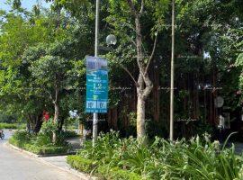 Chiến dịch treo banner quảng cáo của bất động sản Imperia Smart City
