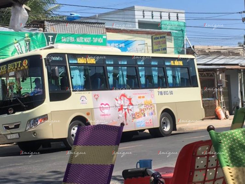 Quảng cáo xe bus tại Bến Tre