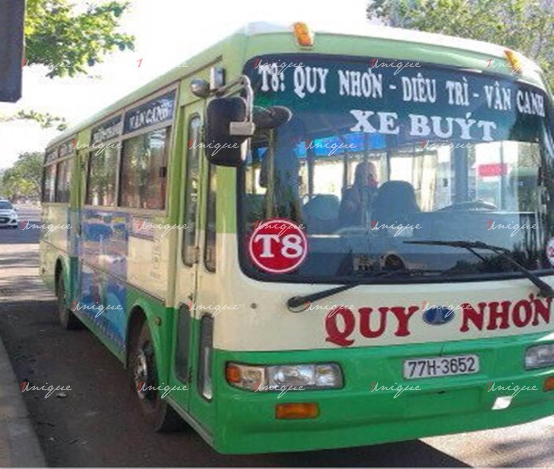 Quảng cáo trên bus Bình Đình