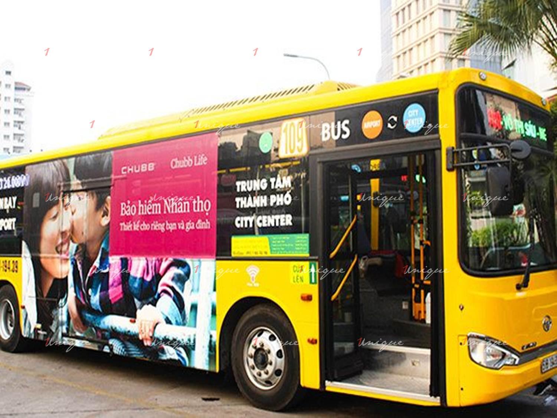 quảng cáo xe bus tại Bình Phước