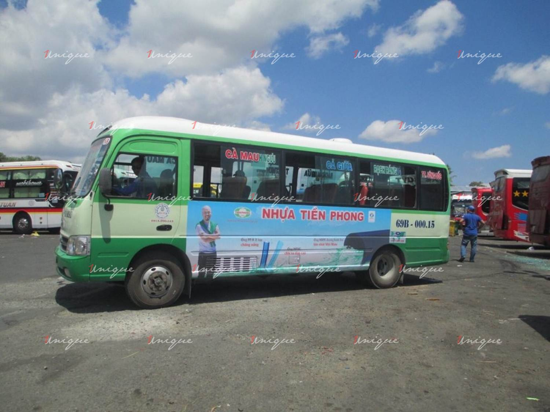 Quảng cáo xe bus tại Cà Mau
