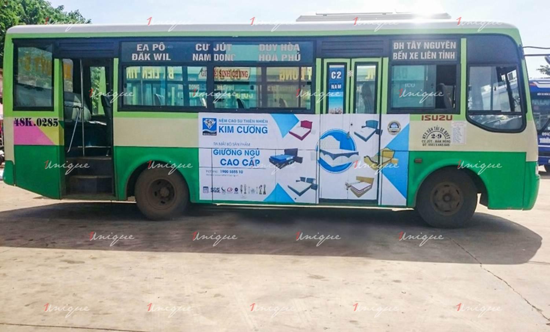 Quảng cáo xe bus tại Đắk Nông