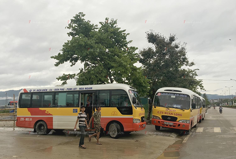 Quảng cáo xe bus tại Điện Biên