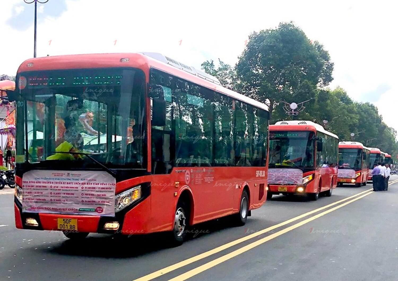 Quảng cáo xe bus tại Đồng Tháp