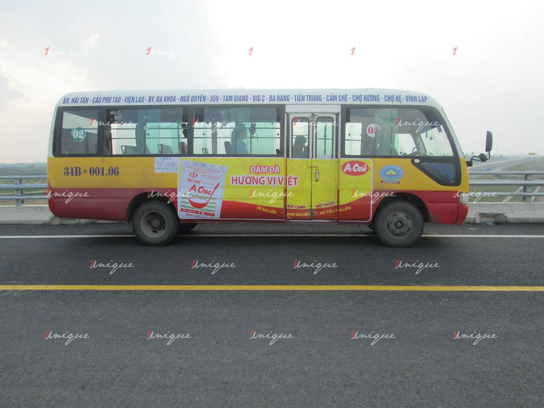 Quảng cáo xe bus tại Hải Dương