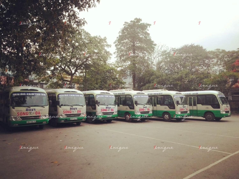 Quảng cáo xe bus tại Hoà Bình